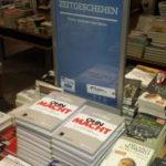 Aktionstisch, Lesung H.P. Schwintowski, Thalia, Chemnitz (Galerie Roter Turm)